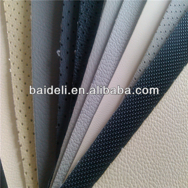 automotive pvc vinyl leather car seat fabric
