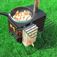 Outdoor colner c11 portable wood burning stove,camping wood burning stove portable,wood fired hot tub heater
