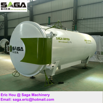 High Frequency HF Drying Kiln Vacuum Seasoning Wood Equipment
