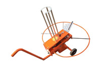 RV01 Automatic clay trap thrower clay pigeon thrower, clay target thrower, launcher with wheel.
