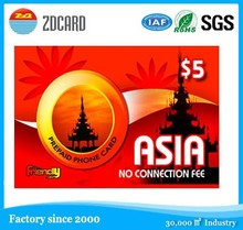pvc plastic business visiting calling name card in shenzhen china
