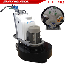 R804 polishing machine for concrete floor with 4 heads grinder