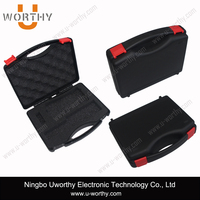 china supplier pp material small portable plastic tool case / mini toolbox for equipment 250*210*70mm