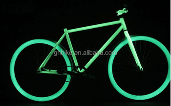 700c fixed bike glow in the dark bicycle fixie bike