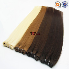 China supplier hair weaving remy russian blonde hair extensions