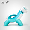 Ms.W Personal Use Skin Dirt Remover, Sonic Facial Brush With Water-Proof IP65