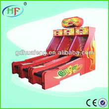 Indoor bowling arcade game/coin operated game machine/amusement ticket game machine HF-RM458