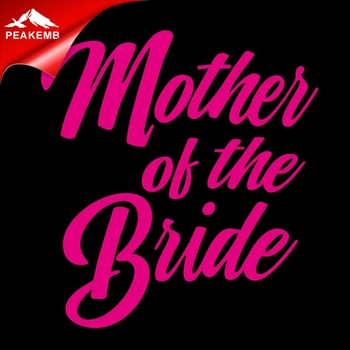glitter mother of the bride iron on decal Bride heat transfer vinyl