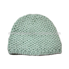 100% Acrylic Cable Knitted Custom Winter Beanie Hats