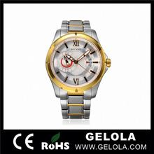 stainless steel watch mechanical watches for men japan movt geneva watch stainless steel back