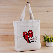 Customized Logo Printed Trendy Advertising Cotton Colorful Canvas Bag