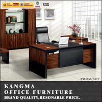 closeout melamine surface office desk with locking drawers