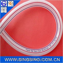 2 inch pvc braided hose pipe 1 1/8 inch pvc braided hose pipe