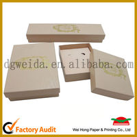 2013 shiny paper jewelry box