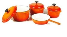 hot sale kitchen utensil enamel cast iron cookware large hot pot