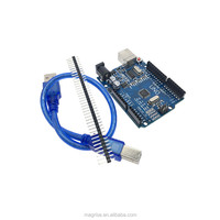 Wholesale For Arduino UNO R3 CH340G ATMEGA328P Board with USB Cable