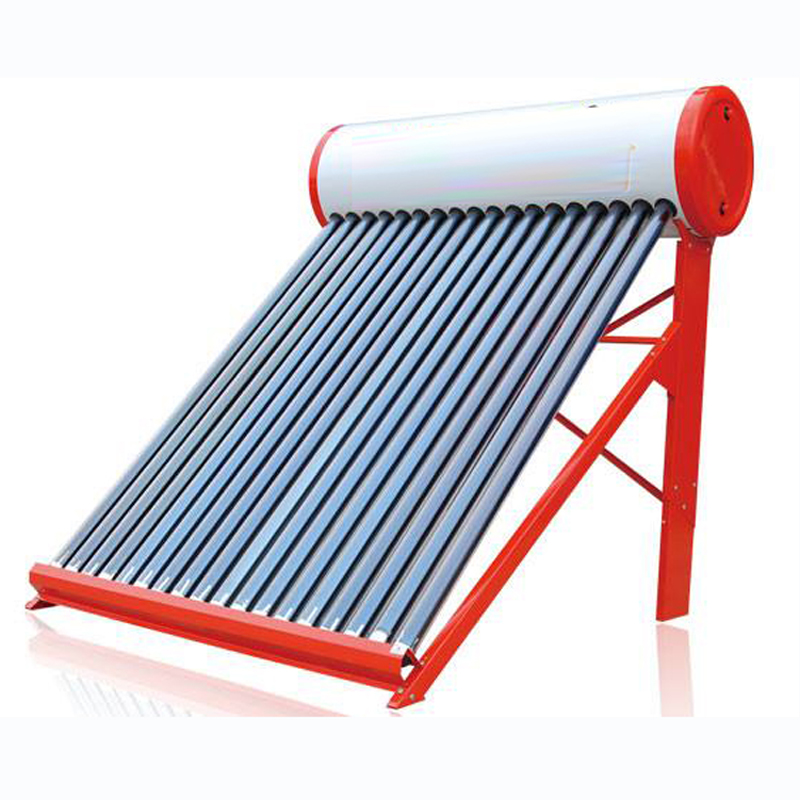 Well Designed china manufacture colorful rubber strip Factory Compact Colored Steel Non-pressure solar water heater