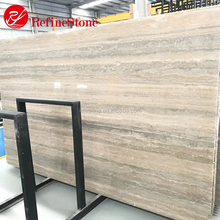 import italian silver grey travertine marble price