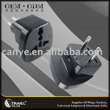 Universal Travel Plug to U.A.E,RUSSIA,SOUTH AMERICA Plug Adapter