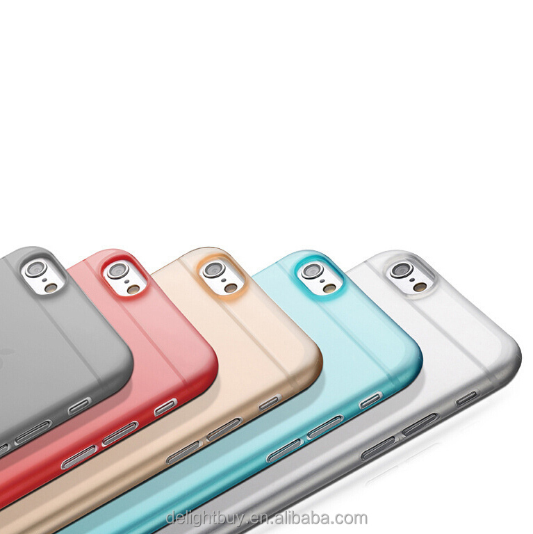 Ultra Thin Slim Case For IPhone 6, For IPhone 6 / 6s Matte Back Soft PP case