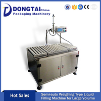 Semi-auto Weighing Type Ginseng Royal Jelly Oral Liquid Filling Machine