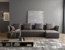 Modern Soft High Grade Fabric Modular Sofa Divan Living Room Furniture Chinese Sofa