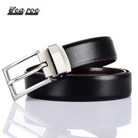 Gentlemen Rotatable Buckle Men S PU