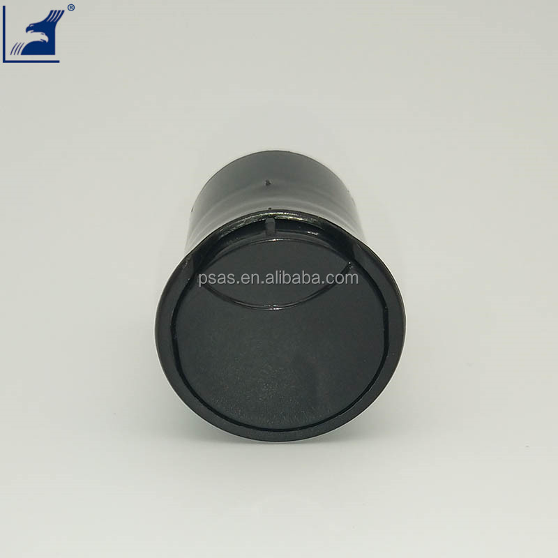 Shiny black 24/415 disc top cap