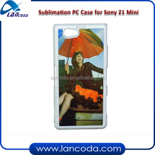 sublimation case cover for sony z1 mini