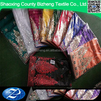Wholesale sequin embroidery indian plain george fabric