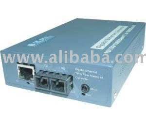 Managed Gigabit Ethernet Media Converter