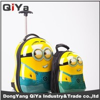 2014 cheap children's trolley travel luggage bag
