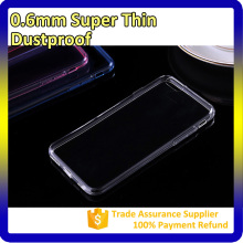 For Apple iPhone 6 TPU Case, 0.6mm Clear Soft For iPhone 6 Tpu Clear Case Wholesale