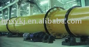 High efficiency rotates tube drying machine for materials