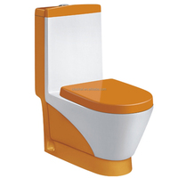2016 newest fashion style bathroom sanitary ware ceramic one piece container toilet
