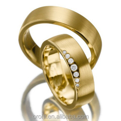 GIA Certificated Diamond Ring Solid 9ct 14ct 18ct Gold Wedding Bands Wholesale Factory Cost