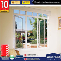 Casement UPVC windows with built in blinds 2016