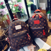 Hot Selling 2017 Fashion Women Mini PU Leather Backpack For School Girls