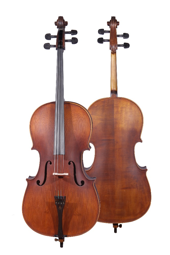MC760E Laminate spruce cello(Ebony parts)