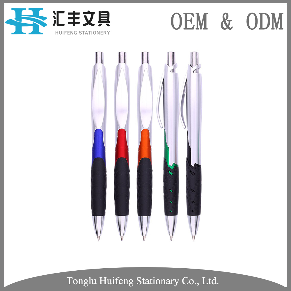 HF5246D high quality recycle material plastic ball point pen for promotion