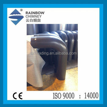 CE Carbon Steel 90 Degree Elbow with Removable Up or Down Door