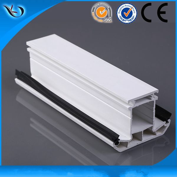Lastest new design linear wholesale pvc profile for window&door