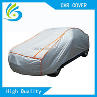 thicker Aluminium+EPE inflatable heated hail protection padded car cover