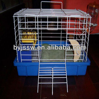 pvc coated rabbit cage wire
