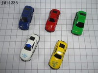 Sliding alloy car models/metal sliding car/promotional toys for capsule and vending merchine