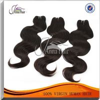 Unprocessed 100% Body Wave Real Human Hair
