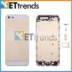 Wholesale for iphone 5 gold housing, for iphone 5s gold housing