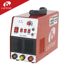 Lotos Tig200D Small Welder welding equipment 110V/220V portable dc inverter argon gas welding machine price