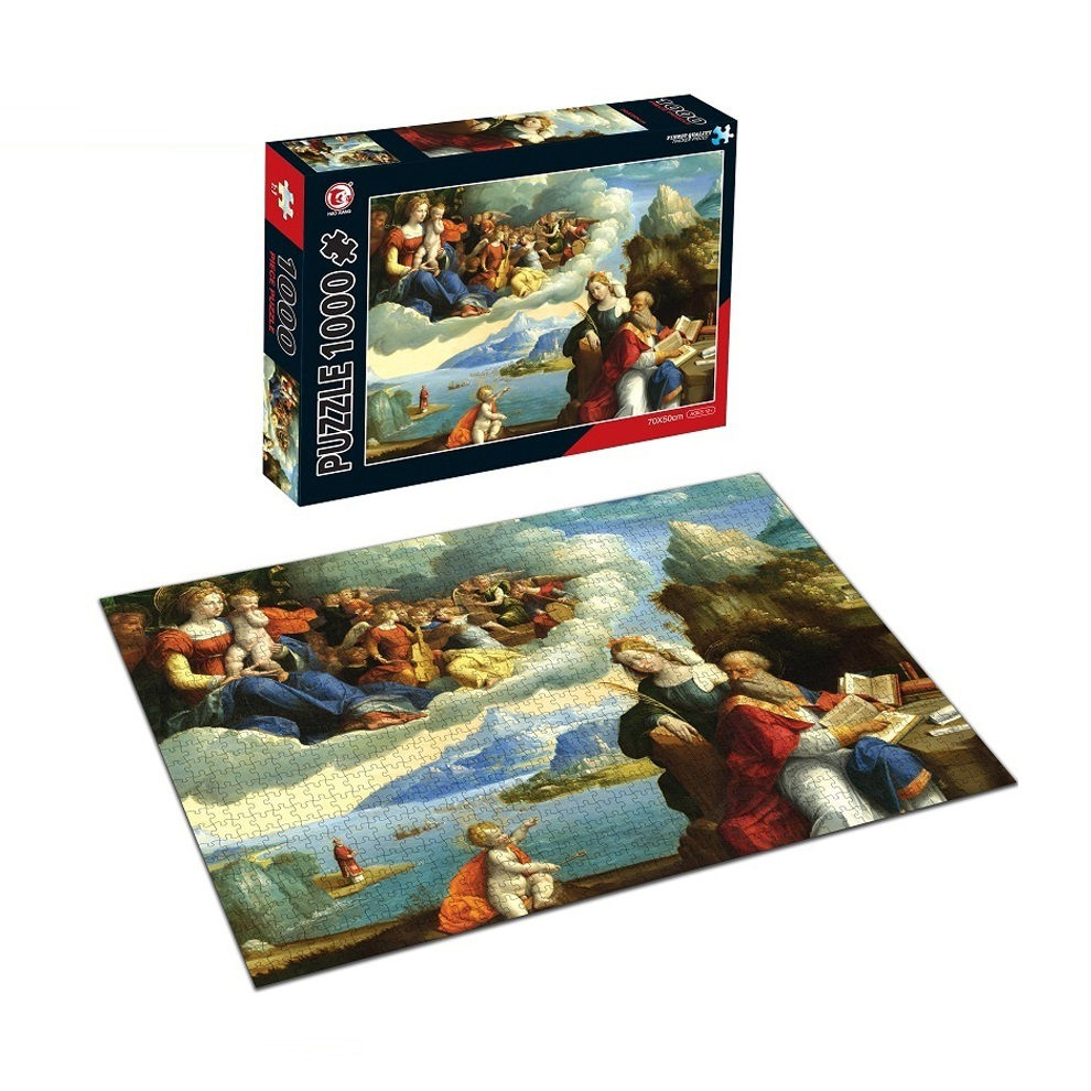 Famous Painting Puzzle For Kids Toy Free Jigsaw Puzzle With 1000 Piece