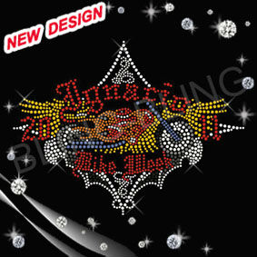 Personalized rhinestone transfer motorcycle with dark fabric for motor